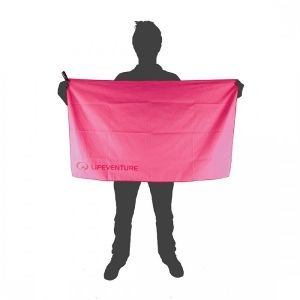 Lifeventure SoftFibre Pink Towel - Large