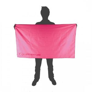 Lifeventure SoftFibre Pink Towel - X-Large