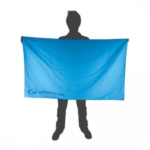LifeVenture SoftFibre Blue Towel - Giant