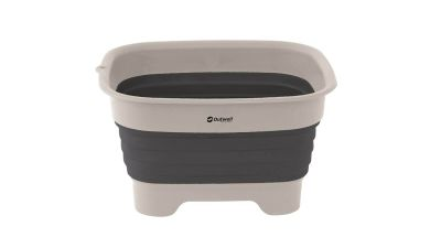 Outwell Collaps Wash Bowl With Drain - Navy