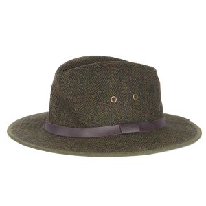 Barbour Bushman Tweed Hat