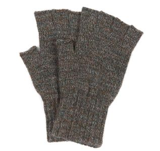 Barbour Fingerless Gloves - Olive