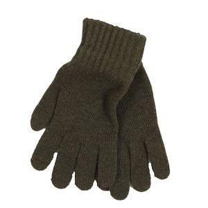 Barbour Lambswool Gloves - Green