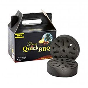 Quick BBQ Charcoal - 5 Pieces
