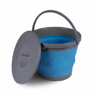 Kampa 5 Litre Bucket With Lid - Blue