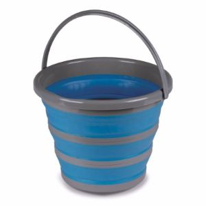 Kampa 10L Collapsible Bucket - Blue
