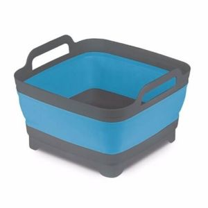 Kampa Collapsible Washing Bowl With Plug - Blue