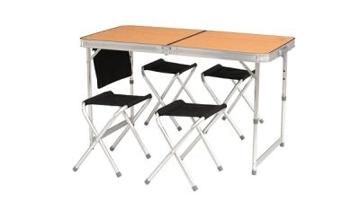 Easy Camp Belfort Picnic Table & Stools