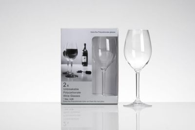 Flamefield Two Pack Wine Glasses 10oz