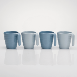 Flamefield Shades of Blue Mug Set