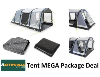 Kampa Dometic Hayling 4 Air Pro Tent MEGA Package 2020