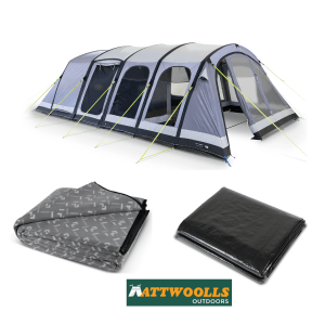 Kampa Dometic Studland 6 Air Pro Tent Package Deal 2020