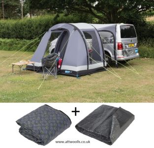 Kampa Travel Pod Trip Air Drive-away Awning Package Deal 2020