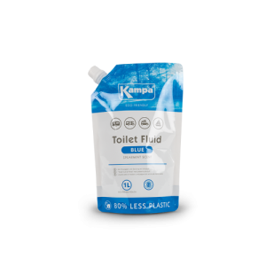 Kampa Eco Blue Toilet Fluid Pouch 1L  - Spearmint