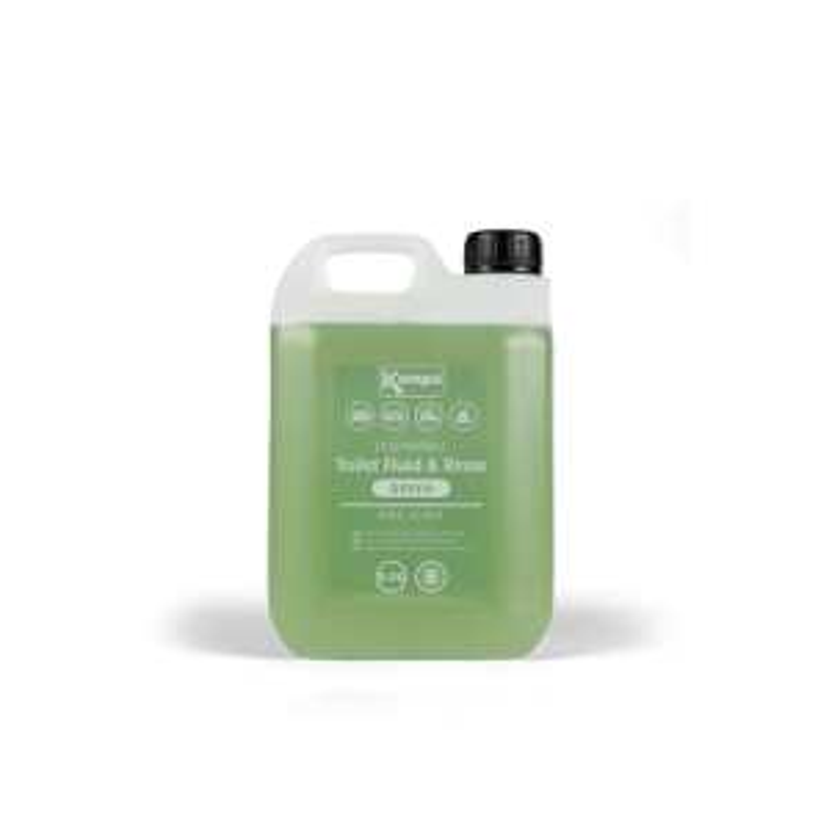 Kampa Eco Green Toilet Fluid & Rinse 2.5L - Pine
