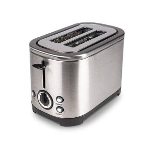 Kampa 'Deco' Toaster - Stainless Steel