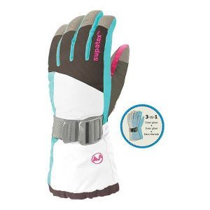 Manbi Altitude 3-in-1 Ski Glove