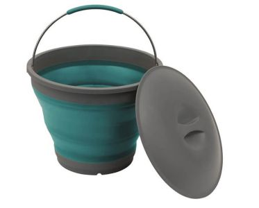 Outwell Collaps Bucket with Lid - Blue