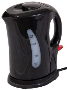 Quest Low Wattage Cordless Kettle 1L - Black