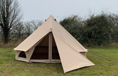 Quest Bell Tent Triangle Tarp / Side Panel
