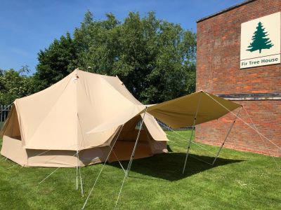 Quest Bell Tent Large Tarp / Sun Canopy