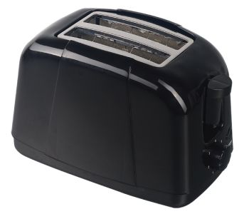 Quest Low Wattage Toaster - Black