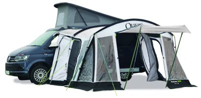 Quest Falcon Poled 300 Low Driveaway Awning 2022