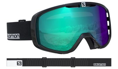 Salomon Aksium Photo Black Goggle 18-19