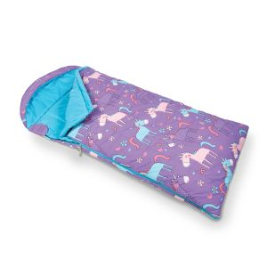 Kampa Children's Sleeping Bag - Unicorns