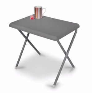 Kampa Mini Plastic Table - Grey
