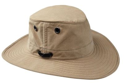Tilley LWC55 Outback Lightweight Hat - Tan
