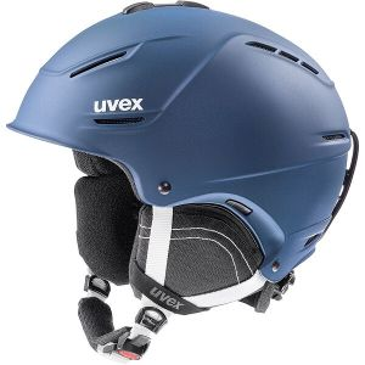 uvex p1us 2.0 Ski Helmet - Navy Blue Mat