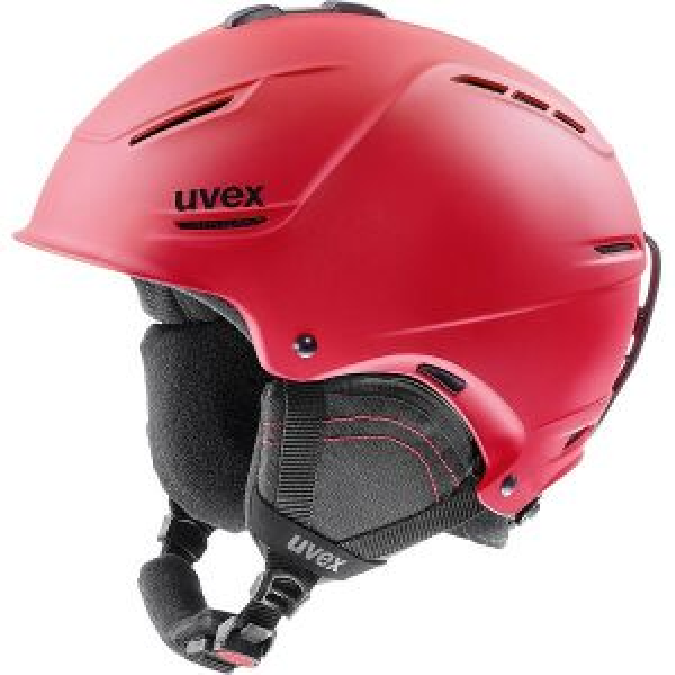 uvex p1us 2.0 Ski Helmet - Red Mat