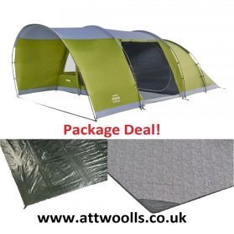 Vango Alton 500 Tent 2020 Package Deal