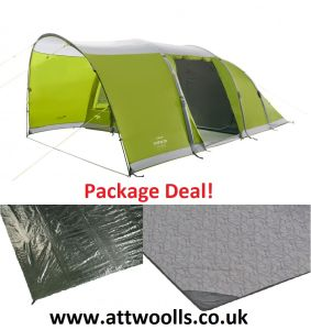 Vango Alton Air 500 Airbeam Tent 2021 Package Deal