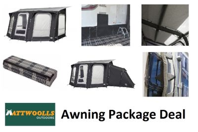 Vango Florence 420 All Season Awning 2020 Mega Package