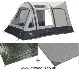Vango Kela V Low Inflatable Awning 2021 Package