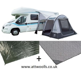 Vango Kela V Tall Inflatable Awning 2021 Package
