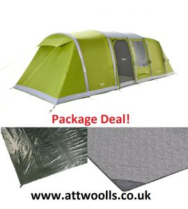Vango Longleat II Air 800XL Tent 2021 Package Deal