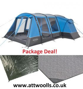 Vango Rome Air 550XL Airbeam Tent 2021 Package Deal