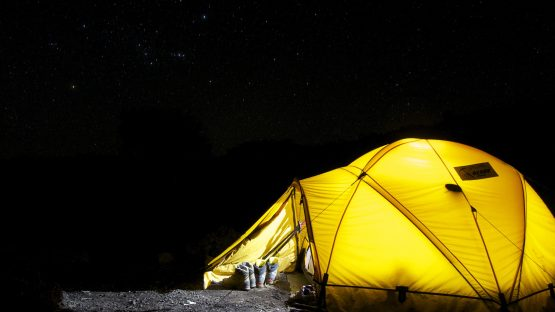 Camping and Electricity