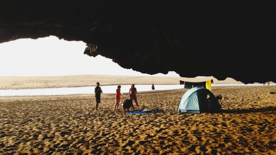 Camping Equipment and Beach Trips