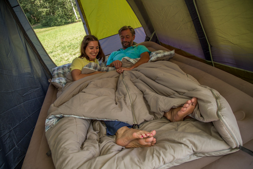 Camping Comforts: Inflatable Sleeping Mats