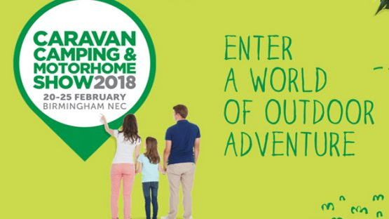 NEC Caravan, Camping and Motorhome Show 20th-25th Feb 2018!