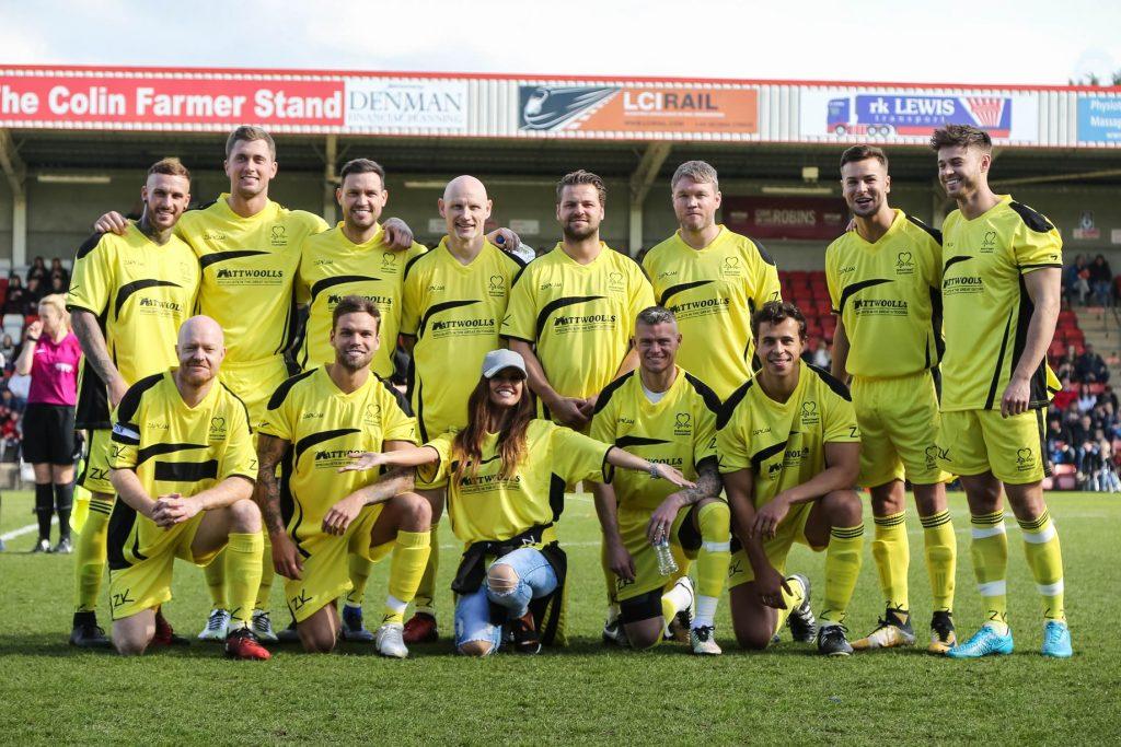 Cheltenham Town Celebrity Football Match Sponsors