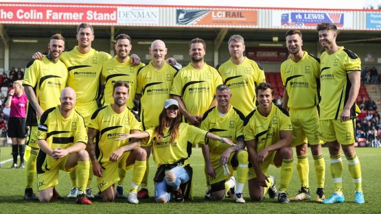 Cheltenham Town Celebrity Football Match Sponsors