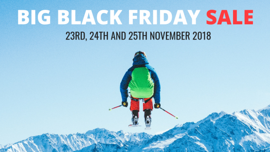 Big Black Friday Sale! 23rd-25th November