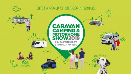 NEC Caravan, Camping and Motorhome Show 19th-24th Feb 2019!